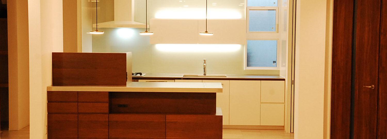 オーダー家具キッチンカウンター