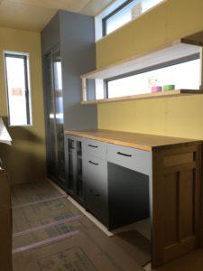 オーダー家具キッチン収納