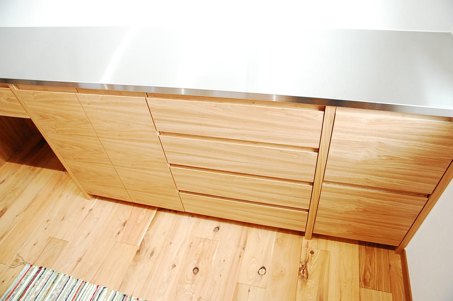 ホワイトオークオーダー家具