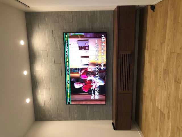 壁付けTVボード完成です